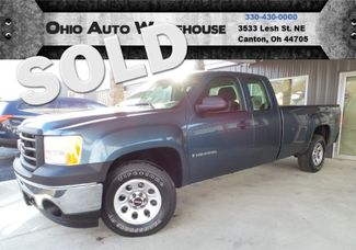 2008 GMC Sierra 1500 4x4 V8 Extended Cab 8FT Long Bed We Finance | Canton, Ohio | Ohio Auto Warehouse LLC in Canton Ohio