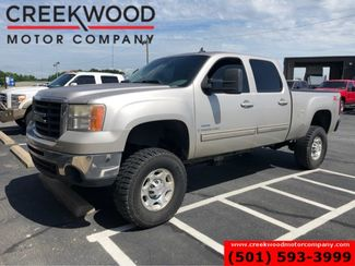"2008 GMC Sierra 2500HD SLT 4x4 Diesel Lifted Leather Heated 35"" Tires in Searcy, AR 72143"
