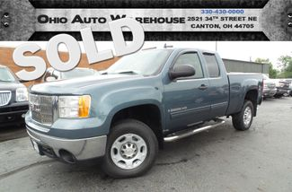 2008 GMC Sierra 2500HD 4x4 3/4 Ton 65K LOW MILES Clean Carfax We Finance | Canton, Ohio | Ohio Auto Warehouse LLC in  Ohio