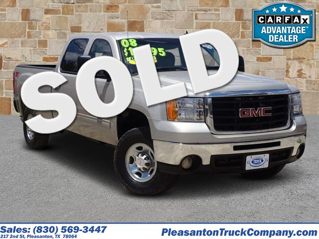 2008 GMC Sierra 2500HD SLE2 | Pleasanton, TX | Pleasanton Truck Company in Pleasanton TX