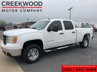 2008 GMC Sierra 2500HD SLE 4x4 6.0 Gas White Cloth New Tires 1 Owner NICE in Searcy, AR 72143