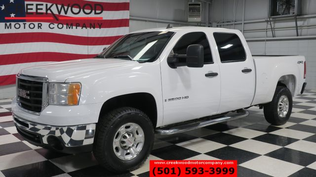 2008 GMC Sierra 2500HD SLE 4x4 6.0 Gas White Cloth New Tires 1 Owner NICE