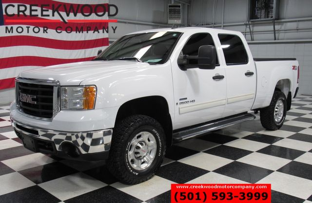 2008 GMC Sierra 2500HD SLE 4x4 Diesel Z71 White New BFG Tires Cloth CLEAN