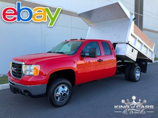 2008 Gmc Sierra 3500 4x4 1-OWNER EXT CAB LANDSCAPE DUMP ONLY 49K MILES WOW in Woodbury, New Jersey 08096