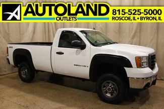 2008 GMC Sierra 3500HD Reg.Cab 4x4 long bed in Roscoe, IL 61073