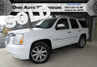 2008 GMC Yukon Denali AWD Navi Tv/DVD 3rd Row V8 Sunroof We Finance | Canton, Ohio | Ohio Auto Warehouse LLC in Canton Ohio