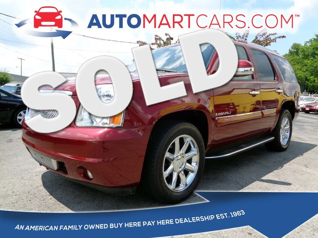 2008 GMC Yukon Denali  | Nashville, Tennessee | Auto Mart Used Cars Inc. in Nashville Tennessee