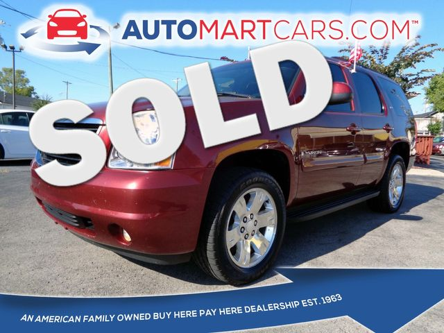 2008 GMC Yukon SLT w/4SA | Nashville, Tennessee | Auto Mart Used Cars Inc. in Nashville Tennessee