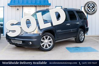 2008 GMC Yukon DENALI 4X4 NAV 2ND ROW BUCKETS 3RD ROW SEATS NICE  in Rowlett
