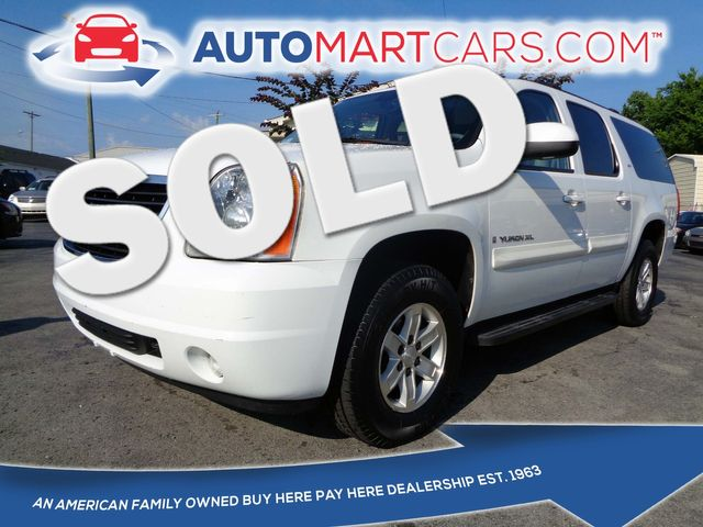 2008 GMC Yukon XL SLT w/4SB | Nashville, Tennessee | Auto Mart Used Cars Inc. in Nashville Tennessee