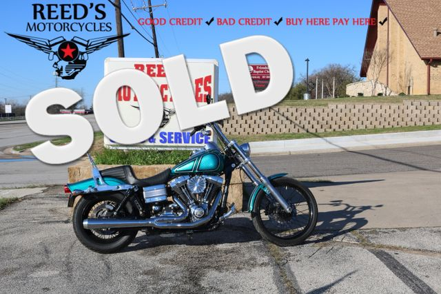 2008 Harley Davidson  105th Dyna -Wide Glide TMU mileage | Hurst, Texas | Reed's Motorcycles in Hurst Texas