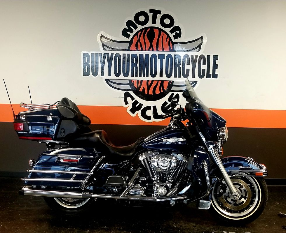 2008 Harley Davidson Electra Glide Ultra Clic Peace Officer Edition In Arlington