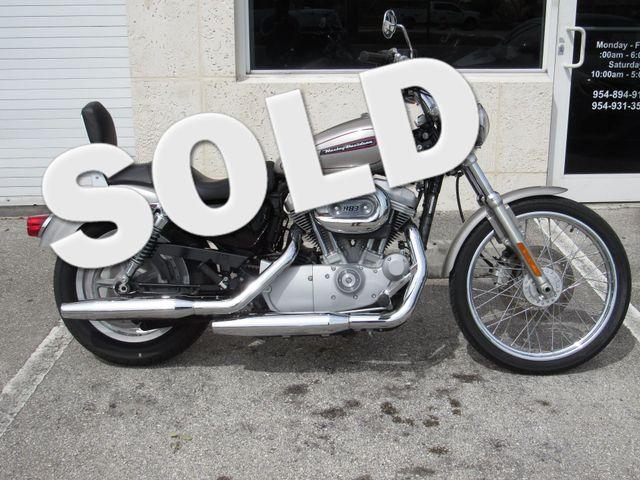 2008 Harley Davidson Sportster XL883 Custom in Dania Beach Florida, 33004