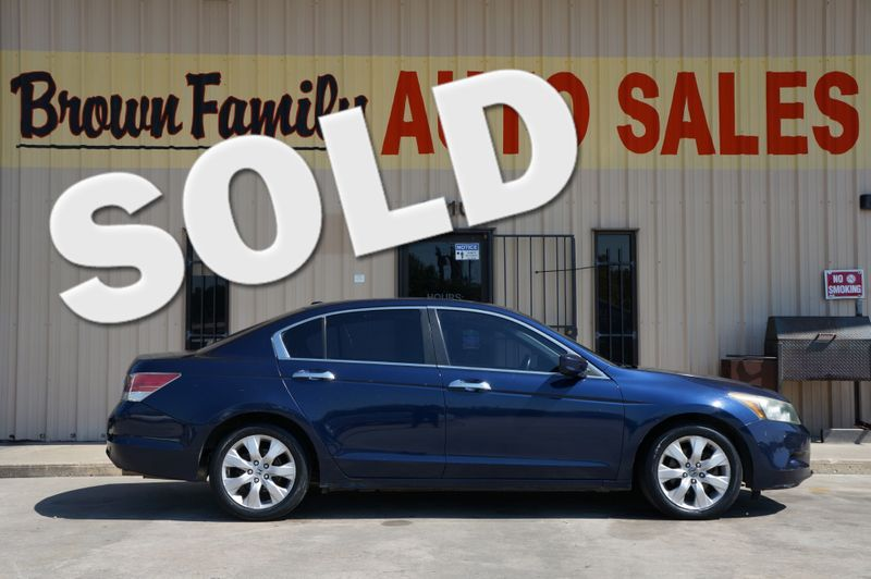 2008 Honda Accord EX-L | Houston, TX | Brown Family Auto Sales in Houston TX
