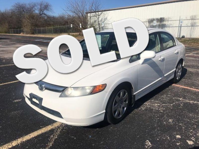 2008 Honda Civic LX | Ft. Worth, TX | Auto World Sales LLC in Ft. Worth TX