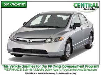 2008 Honda Civic LX | Hot Springs, AR | Central Auto Sales in Hot Springs AR