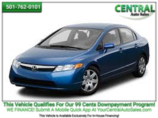 2008 Honda Civic LX | Hot Springs, AR | Central Auto Sales in Hot Springs AR