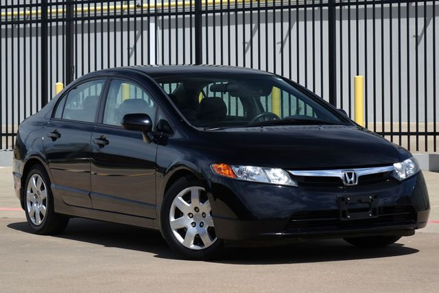 2008 Honda Civic LX* Only 49 k Mi* Clean Title* Auto* EZ Finance** | Plano, TX | Carrick's Autos in Plano TX