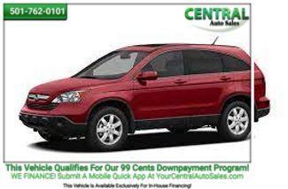 2008 Honda CR-V LX | Hot Springs, AR | Central Auto Sales in Hot Springs AR