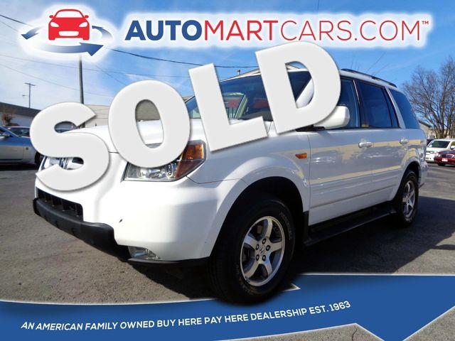2008 Honda Pilot EX-L | Nashville, Tennessee | Auto Mart Used Cars Inc. in Nashville Tennessee