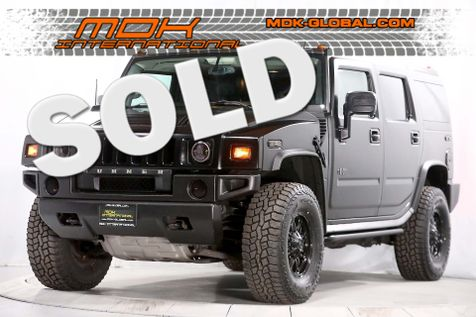 2008 Hummer H2 SUV - 6.2L - Navigation - DVD - 3rd row seats in Los Angeles