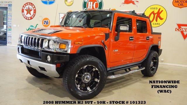 2008 Hummer H2 SUT ROOF,NAV,BACK-UP,REAR DVD,HTD LTH,XD WHLS,50K