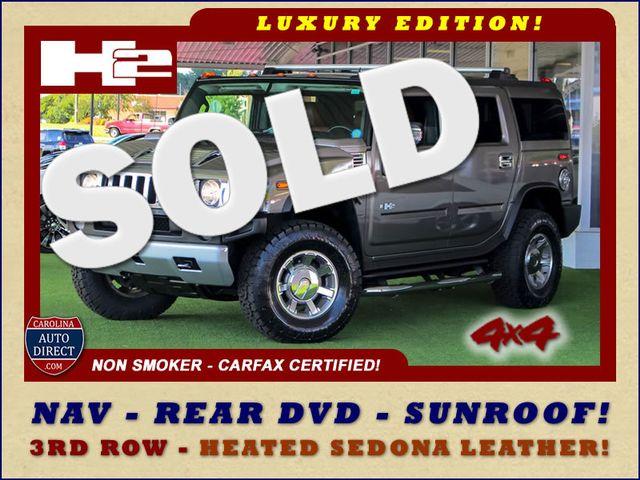 2008 Hummer H2 SUV LUXURY EDITION 4X4 - NAV - REAR DVD - SUNROOF! Mooresville , NC