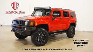 2008 Hummer H3 SUV 4WD AUTO,LIFTED,LEATHER,FUEL WHLS,72K in Carrollton, TX 75006