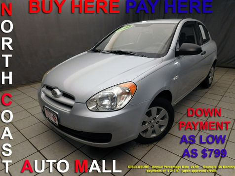 2008 Hyundai Accent GS As low as $799 DOWN in Cleveland, Ohio