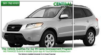 2008 Hyundai Santa Fe GLS | Hot Springs, AR | Central Auto Sales in Hot Springs AR