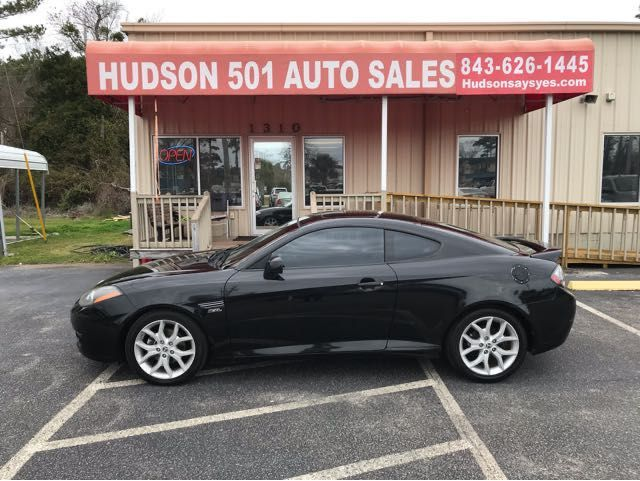 2008 Hyundai Tiburon GT LTD | Myrtle Beach, South Carolina | Hudson Auto Sales in Myrtle Beach South Carolina