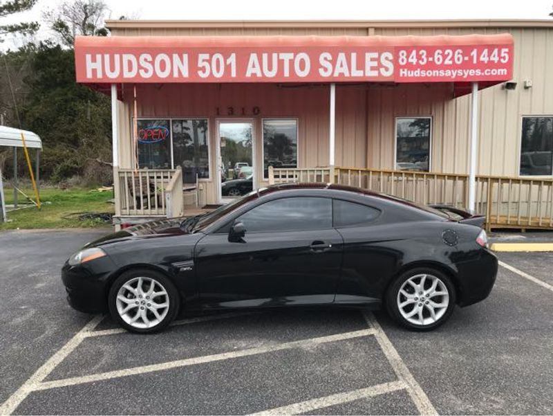 2008 Hyundai Tiburon GT LTD | Myrtle Beach, South Carolina | Hudson Auto Sales in Myrtle Beach South Carolina