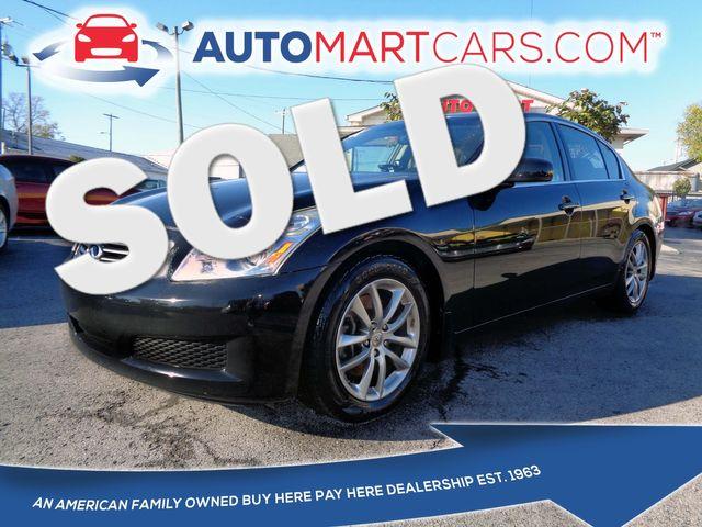 2008 Infiniti G35 Journey | Nashville, Tennessee | Auto Mart Used Cars Inc. in Nashville Tennessee