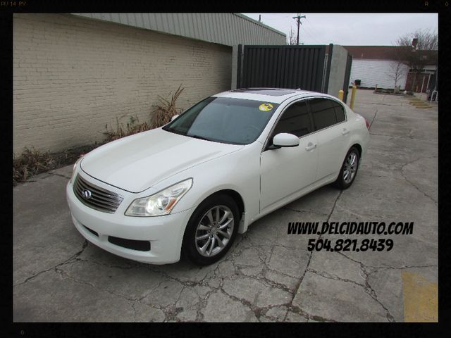 2008 Infiniti G35 Journey, Leather! Sunroof! Clean CarFax!