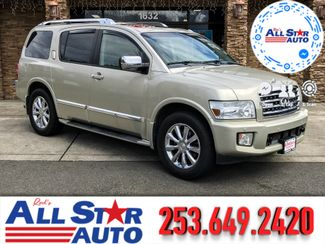 2008 Infiniti QX56 4WD in Puyallup Washington, 98371