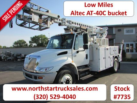 2008 International 4300 AT40C 39' Working Height Bucket Truck  in St Cloud, MN