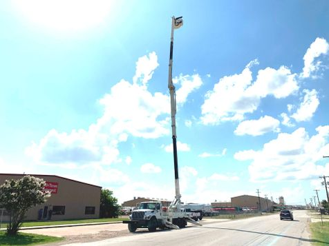 2008 International 7400 110 FOOT REACH BUCKET TRUCK  in Fort Worth, TX