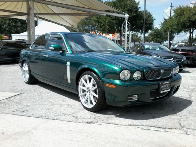 2008 Jaguar XJR SuperCharged  Emerald Fire San Antonio, Texas 1