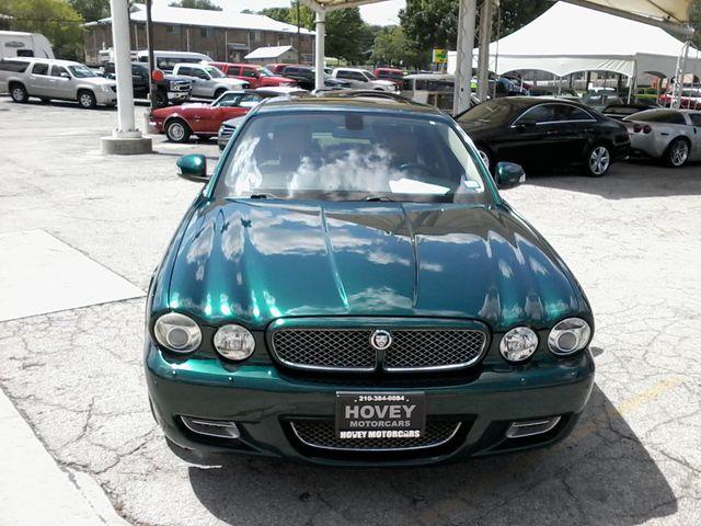 2008 Jaguar XJR SuperCharged  Emerald Fire San Antonio, Texas 2