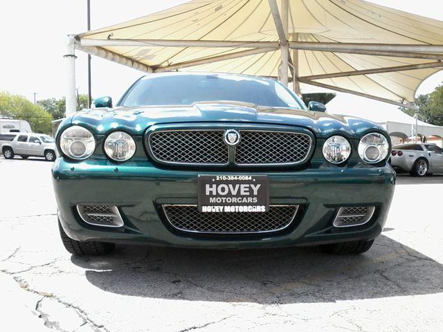 2008 Jaguar XJR SuperCharged  Emerald Fire San Antonio, Texas 3