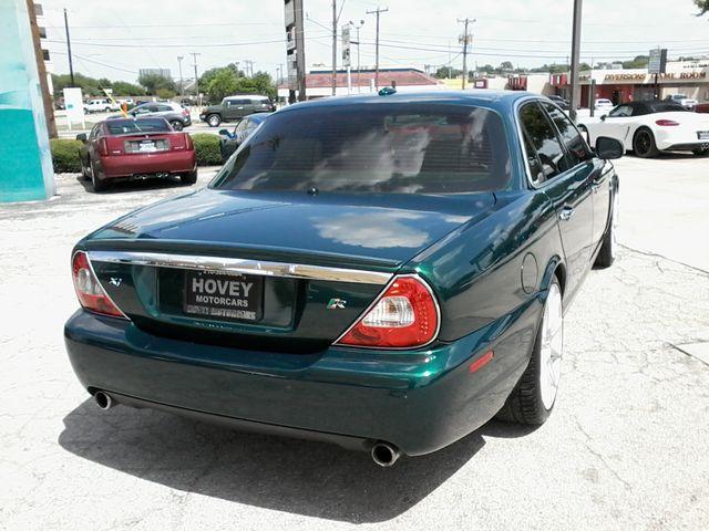 2008 Jaguar XJR SuperCharged  Emerald Fire San Antonio, Texas 4