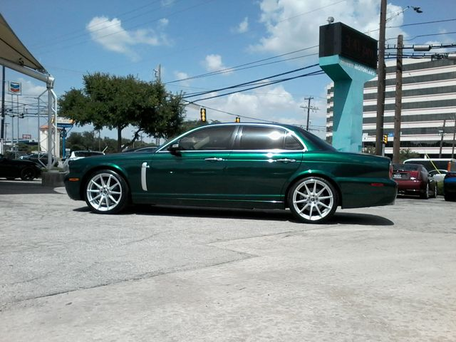 2008 Jaguar XJR SuperCharged  Emerald Fire San Antonio, Texas 7