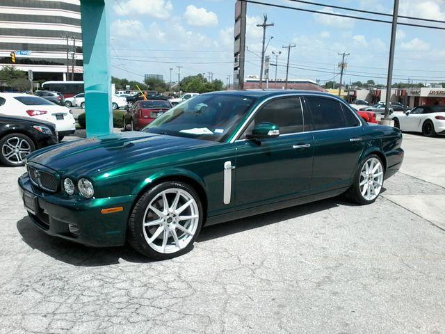 2008 Jaguar XJR SuperCharged  Emerald Fire San Antonio, Texas 8