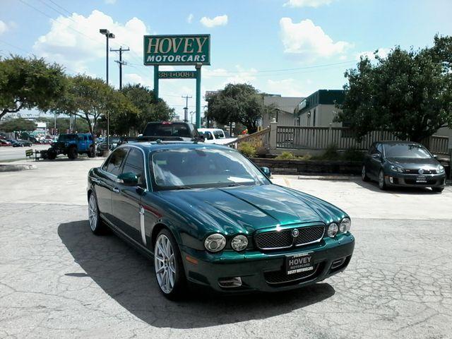 2008 Jaguar XJR SuperCharged  Emerald Fire San Antonio, Texas 9