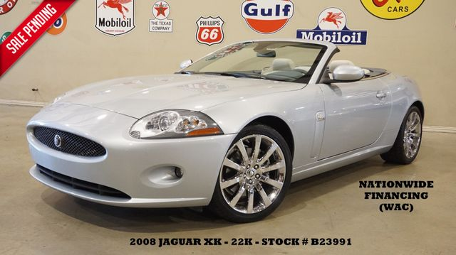 2008 Jaguar XK Convertible NAV,HTD LTH,ALPINE,CHROME WHLS,22K in Carrollton TX, 75006