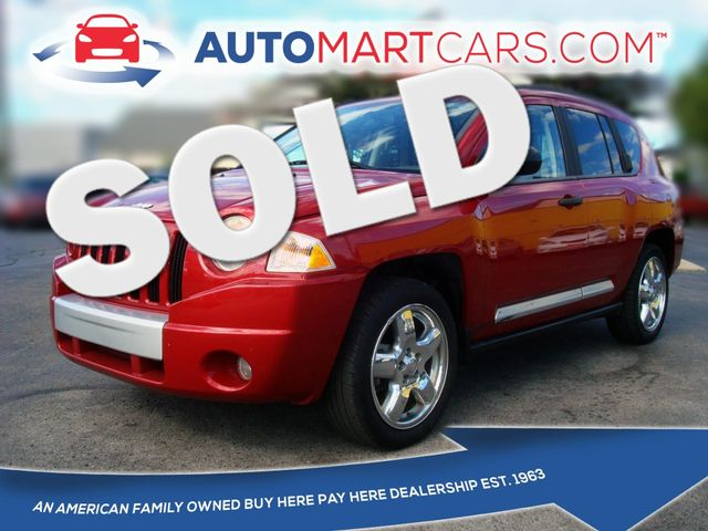 2008 Jeep Compass Limited | Nashville, Tennessee | Auto Mart Used Cars Inc. in Nashville Tennessee