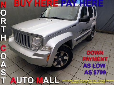 2008 Jeep Liberty Sport As low as $799 DOWN in Cleveland, Ohio