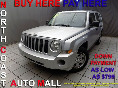 2008 Jeep Patriot Sport As low as $799 DOWN in Cleveland, Ohio