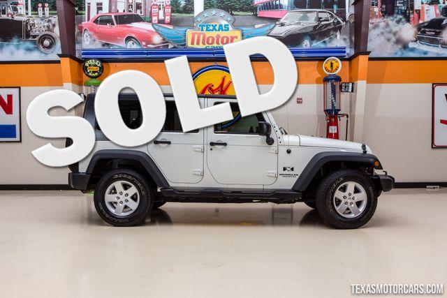 2008 Jeep Wrangler Unlimited X 4X4