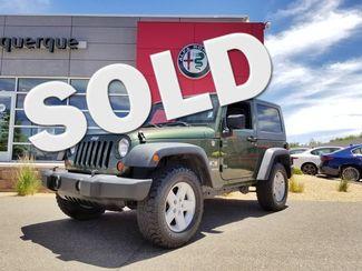 2008 Jeep Wrangler X in Albuquerque New Mexico, 87109